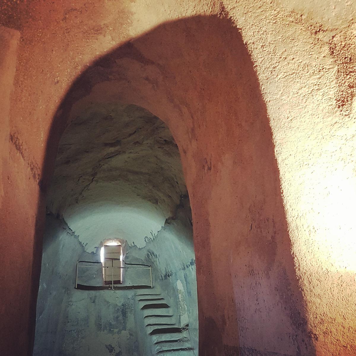 A Heródes palotája alatti víztároló