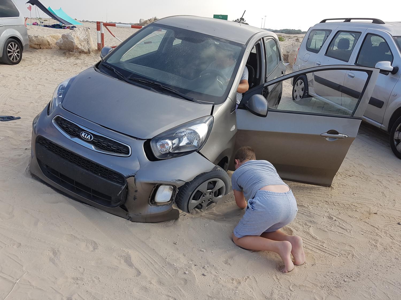 Homokos autóbaleset