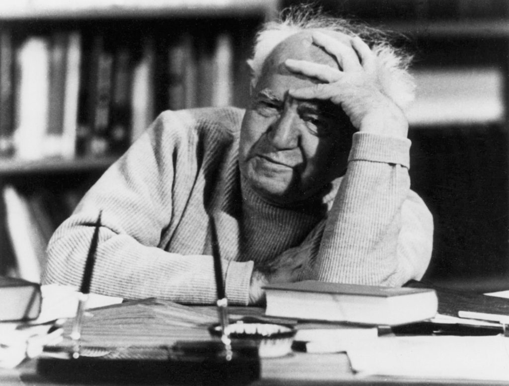 David Ben-Gurion, 1971