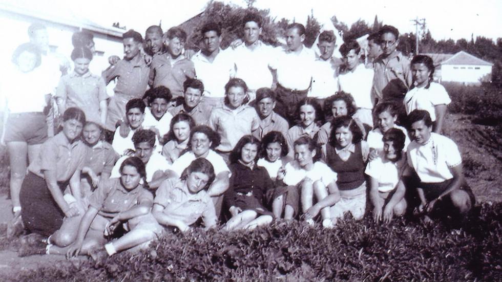 Simon Peresz középiskolásként