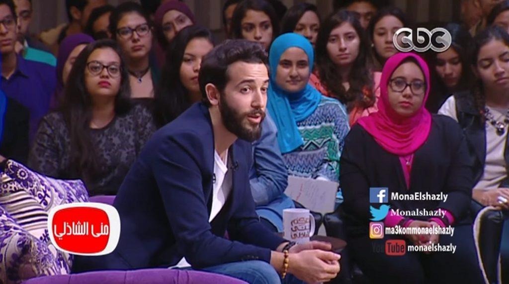 Karim Kassem a tévéműsorban - YouTube képernyőkép