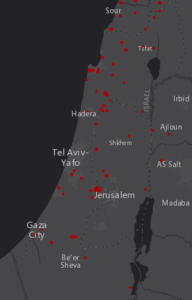 Izrael / Global Forest Watch Fires