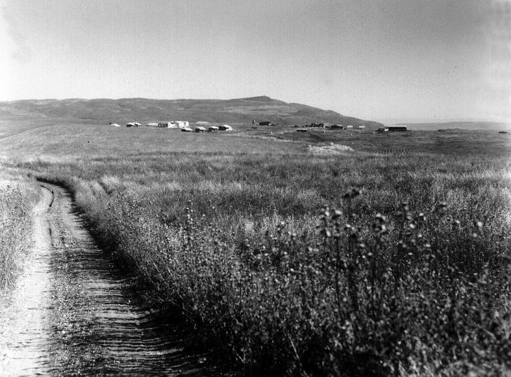 Ramat Hasofet kibuc Szamáriában, 1943 - fotó: Kluger Zoltán / GPO