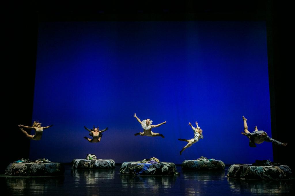 A Meztelen Bohóc c. előadás – fotó: Nagy Attila