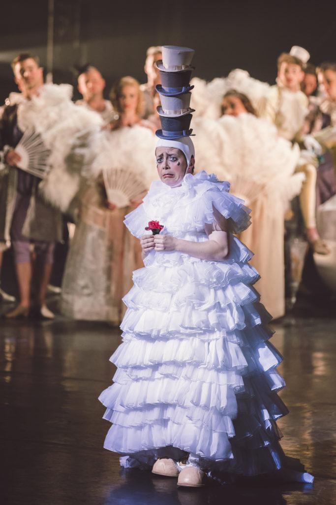 A Meztelen Bohóc c. előadás - fotó: Nagy Attila