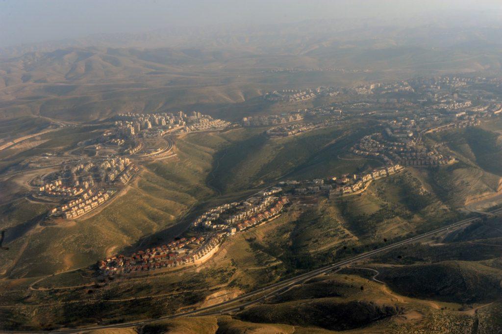 Légifelvétel Maale Adumimről, 2011 - fotó: Moshe Milner / GPO