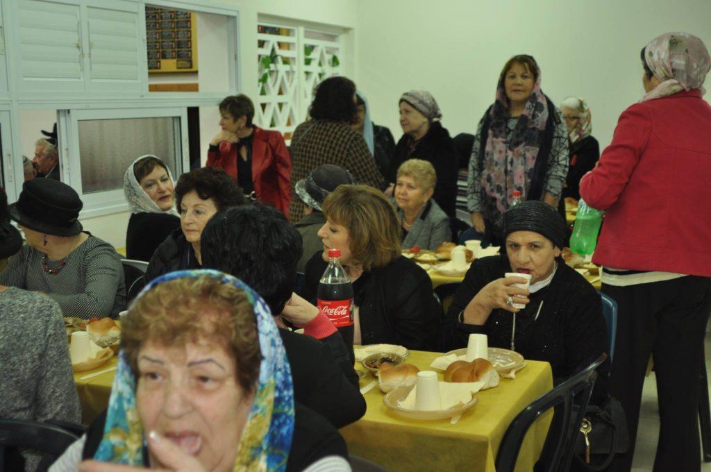 A zsinagóga női szakasza