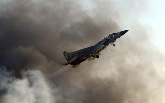 Izraeli F-15 vadászgép