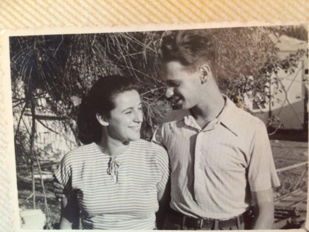 Efrájim Kishon és felesége - fotó: családi tulajdon