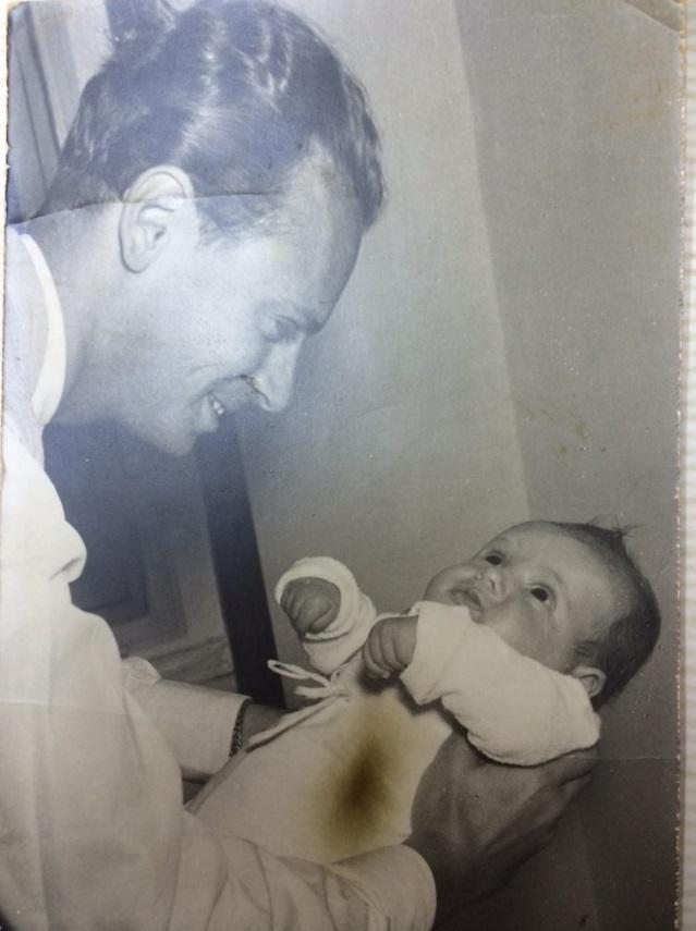 Rafi Kishon édesapjával - fotó: családi tulajdon