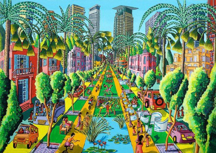 A Rothschild sétány Tel-Avivban - Iloveart Iloveart / Flickr