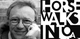 David Grossman - A Horse Walks into a Bar - fotó: Wikipedia/Booknet