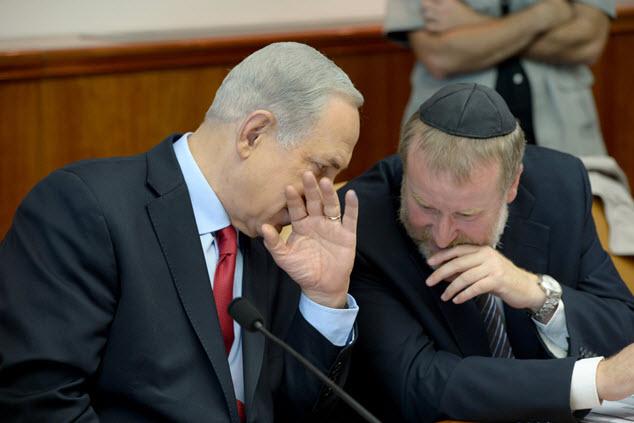 Netanjahu és Mendelblit