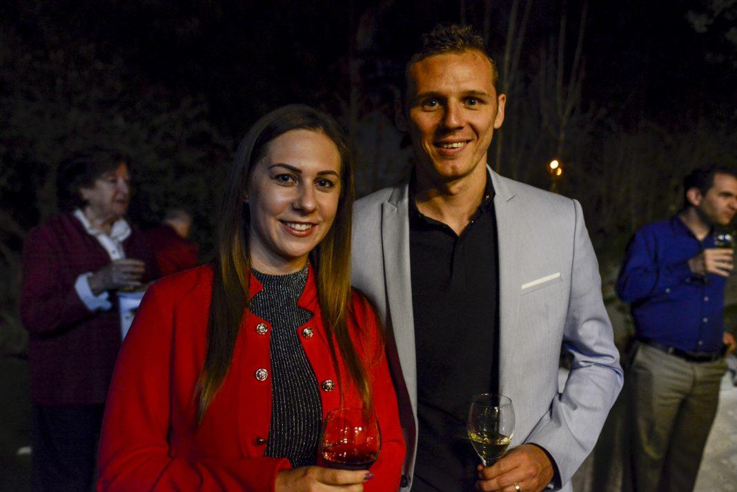 Korhut Misi feleségével - fotó: Bea Bar Kallos