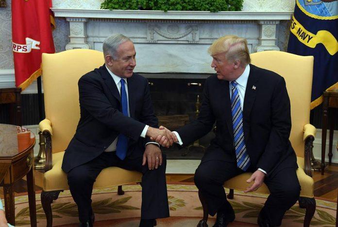 Netanjahu és Trump - fotó: GPO