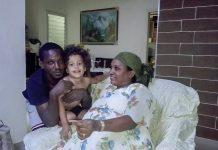 etiop szulok kisfiukkal