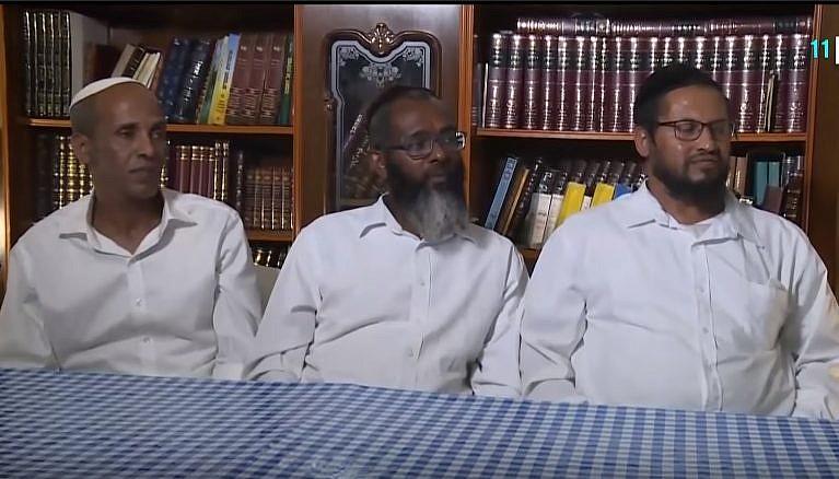 A Barkan pincészet alkalmazottai, akik a zsidóságukkal kapcsolatos kérdések miatt elvesztették munkájukat - fotó: KAN / képernyőkép