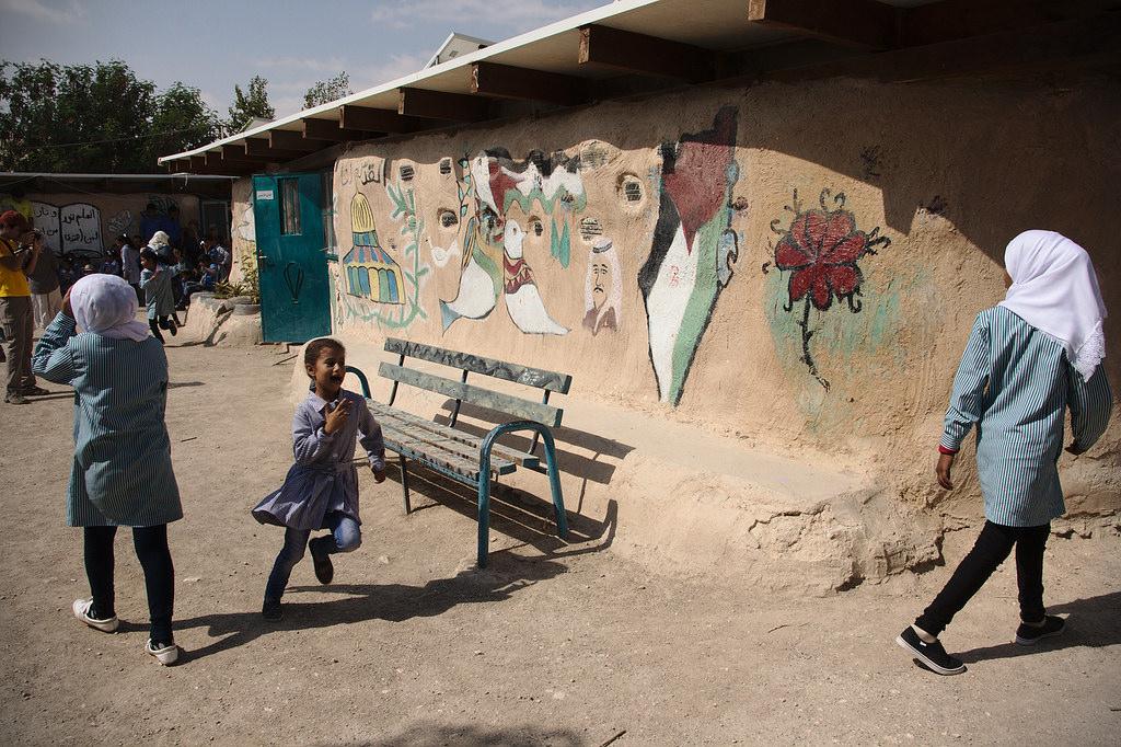 beduin iskola ciszjordaniaban