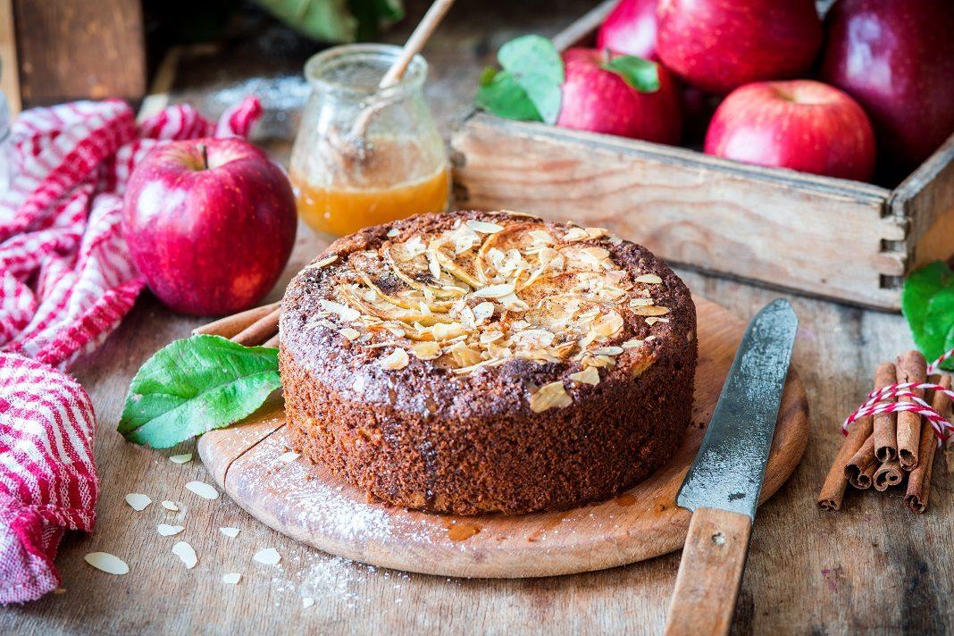 mézes almás sötemény
