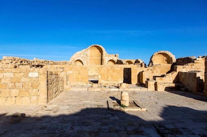bizanckori templom izraelben