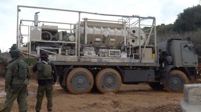 izraeli hadsereg teherauto
