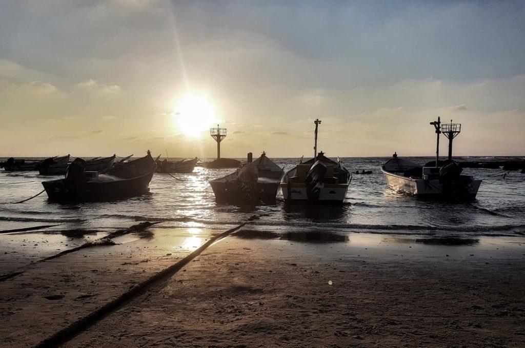 Jisr az-Zarqa - halaszcsonakok izraelinfo