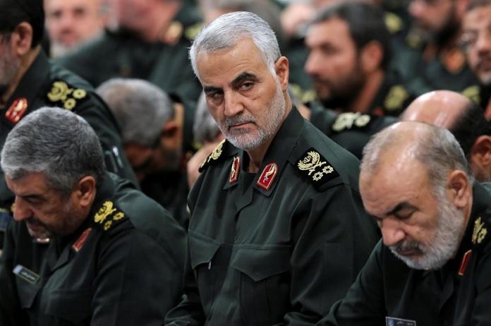 Kaszem Szulimani Iszlam Forradalmi Garda al-Kudsz hirszerzo elitegysegenek parancsnoka