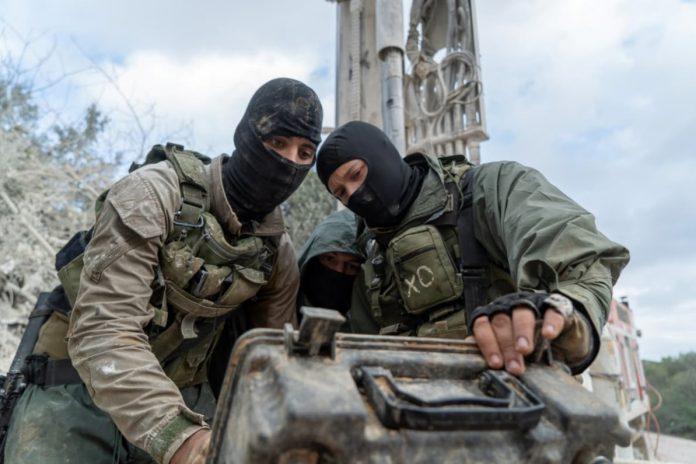 izraeli katonak a libanoni hataron terroralagut