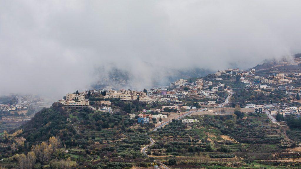 A kod Majdal Shams druz falu szilagyi ildiko hegy