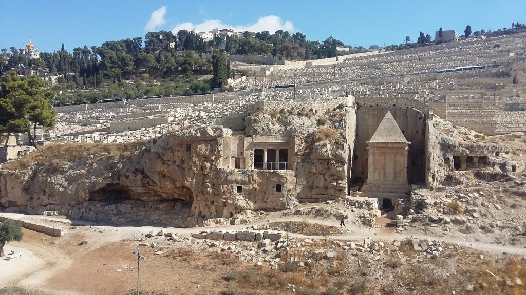 Avsalom tomb Jeruzsalemben zagon judit