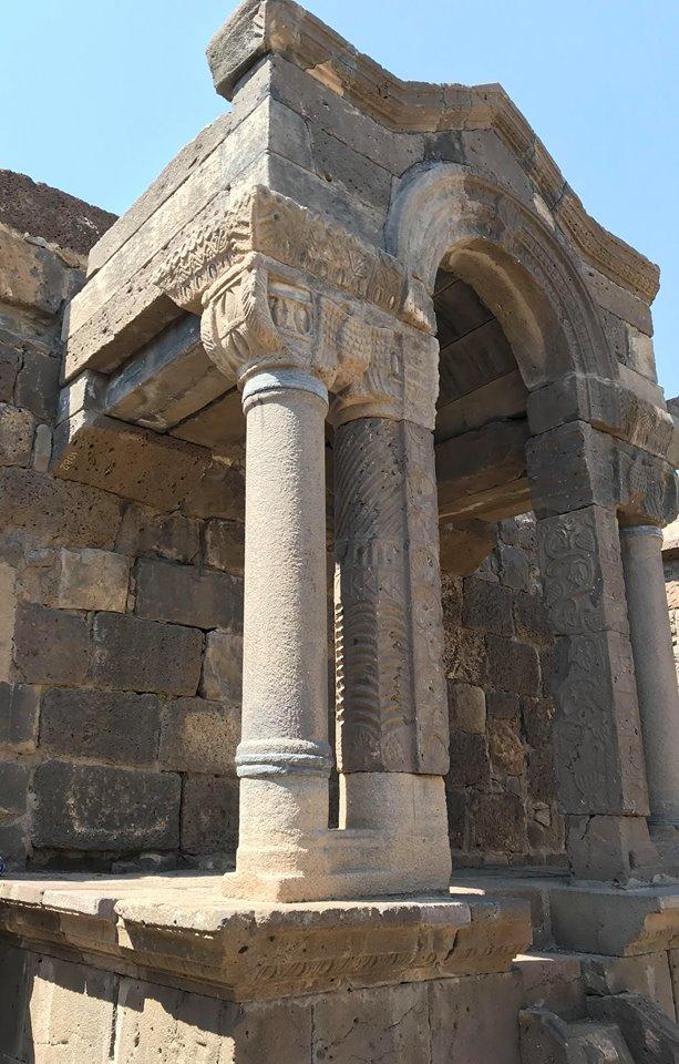 Golan fennsik, Ein Keshatot zsinagóga romjai - fotó: izraelinfo