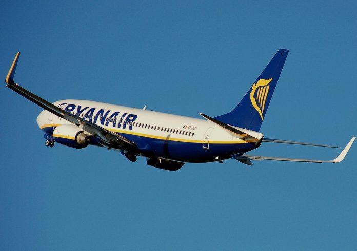 Ryanair repulo eg