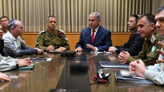izraeli biztonsagi kabinet hadsereg kohavi benjamin netanjahu