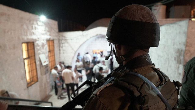 izraeli katona jozsef sirjanal nablusz