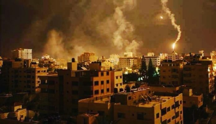 izraeli tamadas gazaban ejszaka