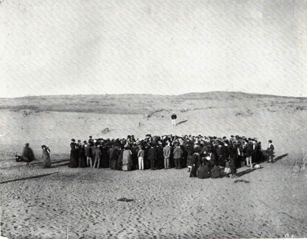 tel aviv megalapitasa 1909 homok sivatag