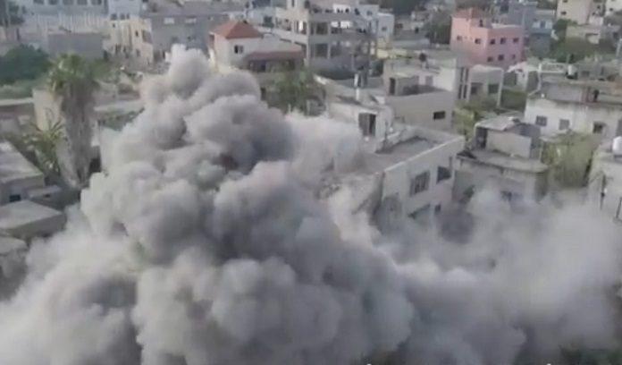 palesztin ciszjordania hazrombolas robban_1