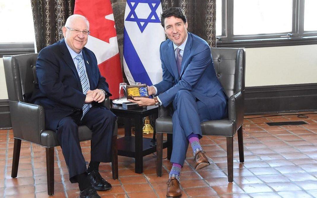 rubi reuven rivlin izraeli elnok kanada miniszterelnok