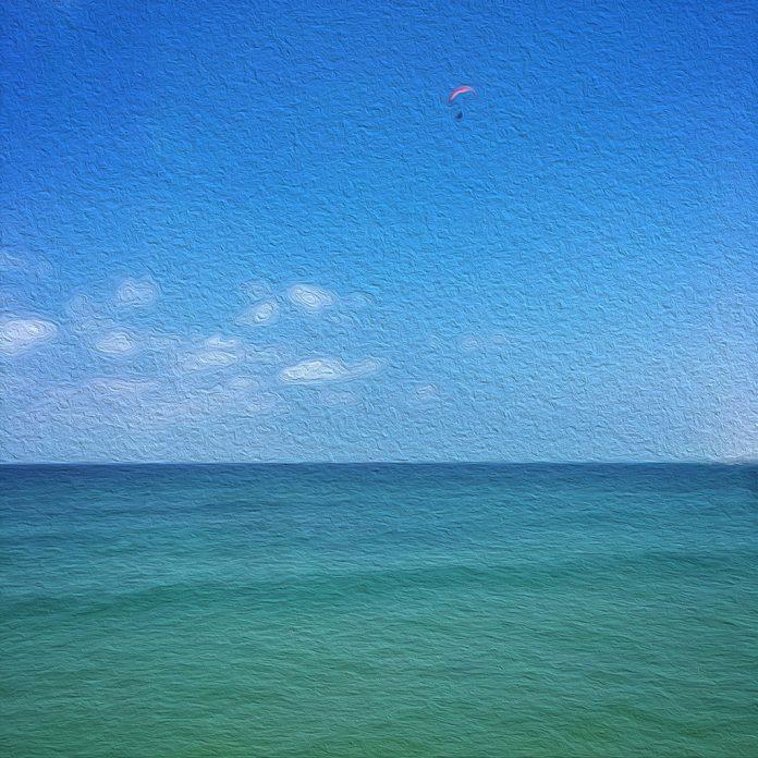 tenger égbolt