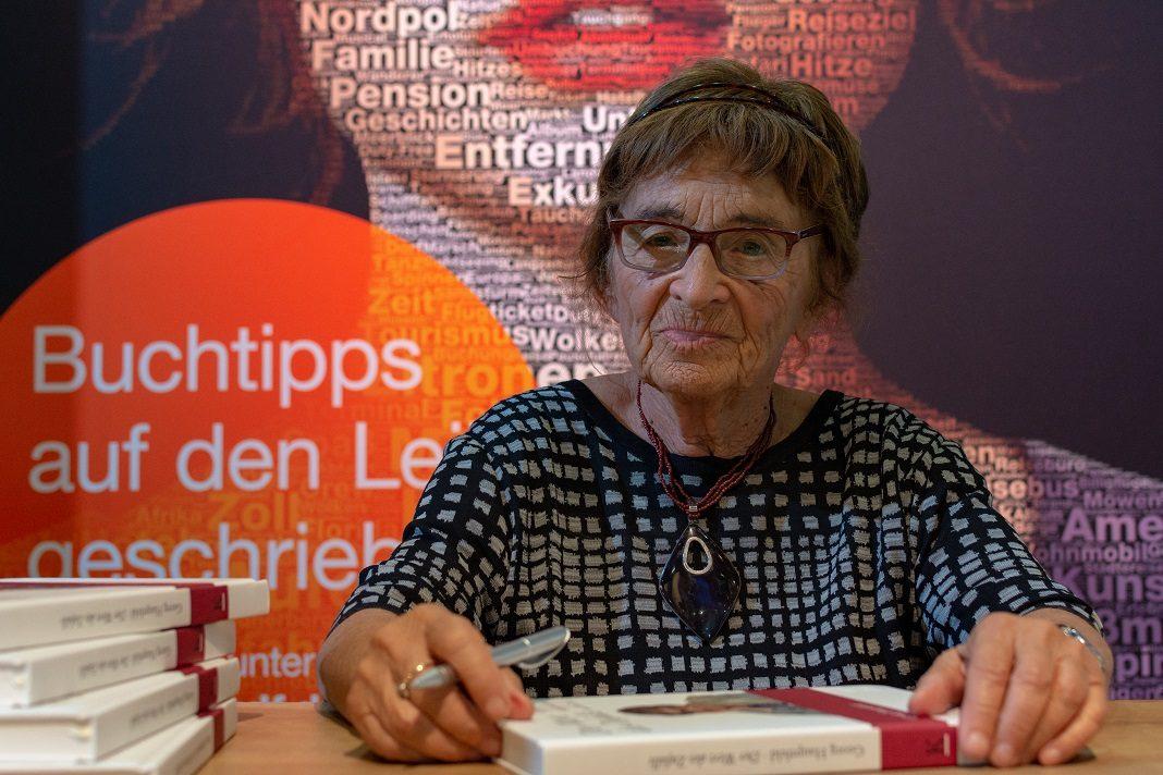 Heller Ágnes a 70. Frankfurti Könyvvásáron, 2018. október 13. - fotó: Markus Wissmann / Shutterstock