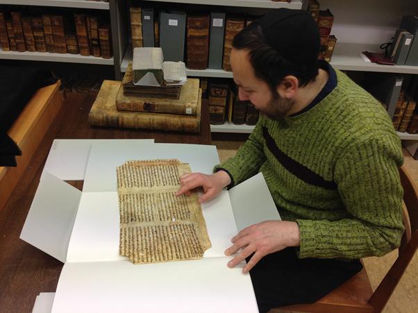 Jacobi kutatás közben a Martinus könyvtárban, Mainz,Németország Fotó: Alexandra Nusser