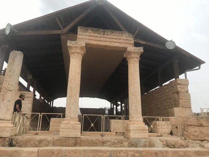 Zsinagóga Szusziában- fotó: a szerző
