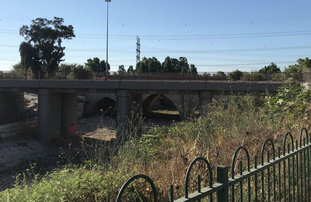 A három híd, egymás mellett Ad Halomnál - fotó: a szerző