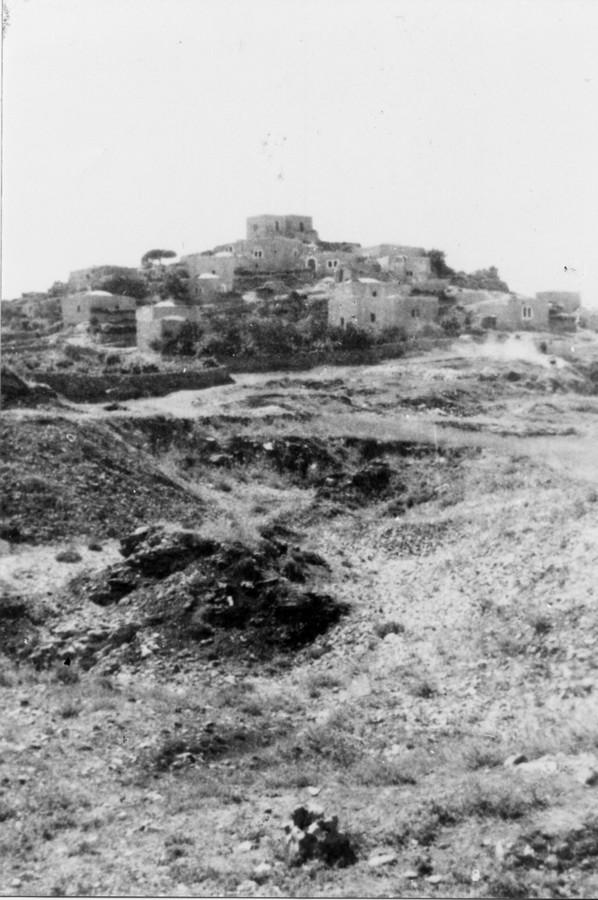 Castel a harcok előtt - fotó: wikipedia
