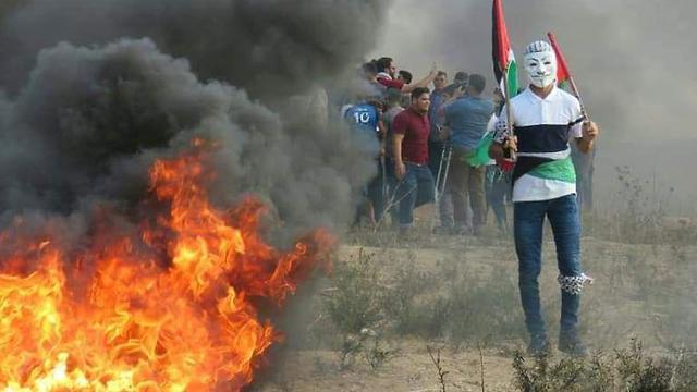 Erőszakos tüntetések a Gázai övezet határán