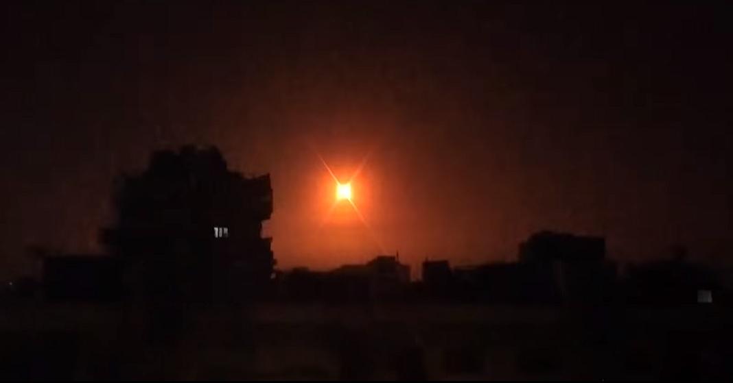 Izraeli harci repülőgépek mértek csapást szíriai célpontokra