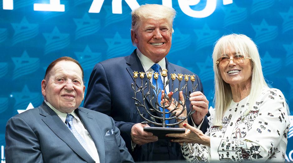 Elhunyt Sheldon Adelson kaszinómágnás, Trump és Netanjahu legfőbb támogatója