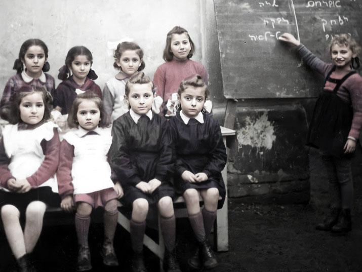 Ritka bepillantás a holokauszt utáni zsidó iskolákba Magyarországon