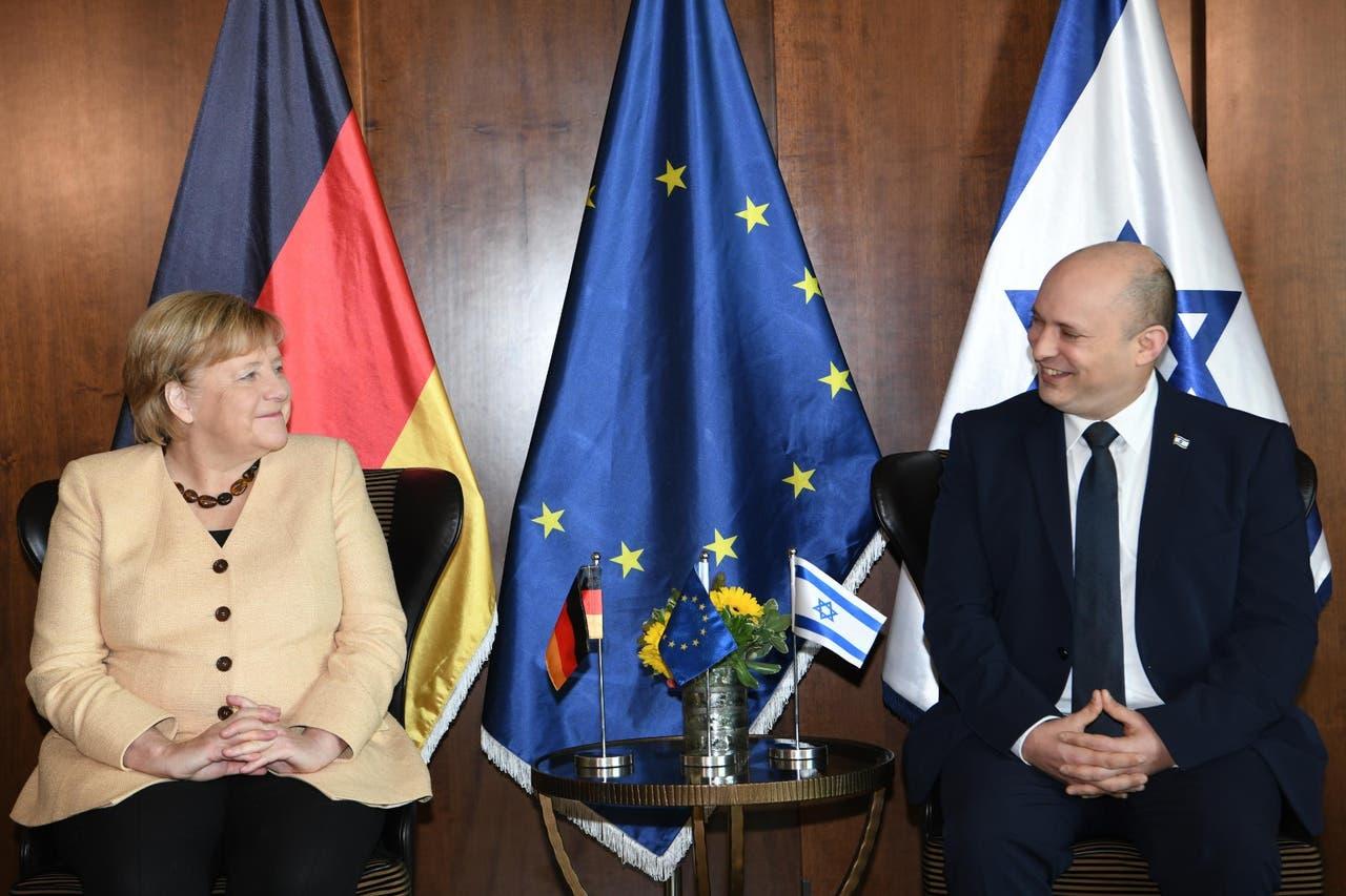 A kapcsolatok fejlesztéséről és biztonsági kérdésekről tárgyalt búcsúlátogatásán Jeruzsálemben Angela Merkel