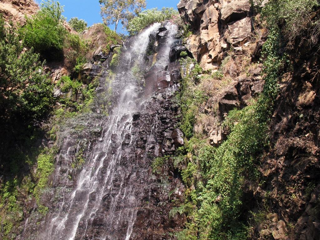 40 méteres vízesés – Nachal Dzsilabun